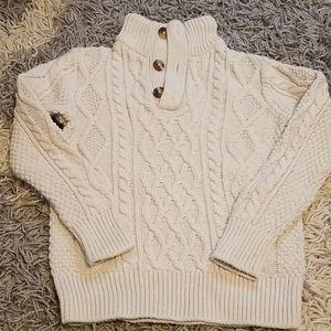 Gap cable fisherman sweater